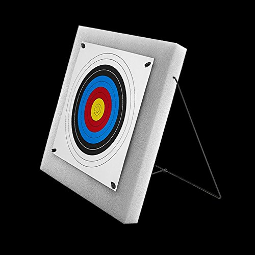 WHITE FOAM ARCHERY TARGET WITH STAND KIT