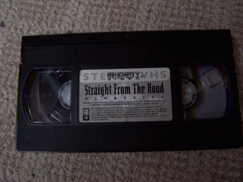- Straight from the Hood [VHS]