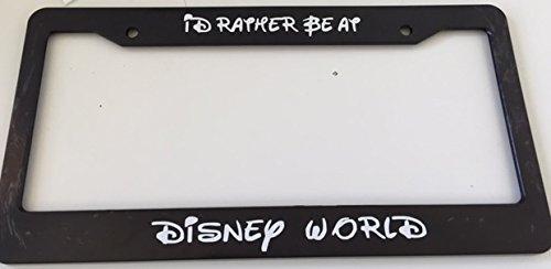 Compare price to license plate frame disney world   TragerLaw.biz