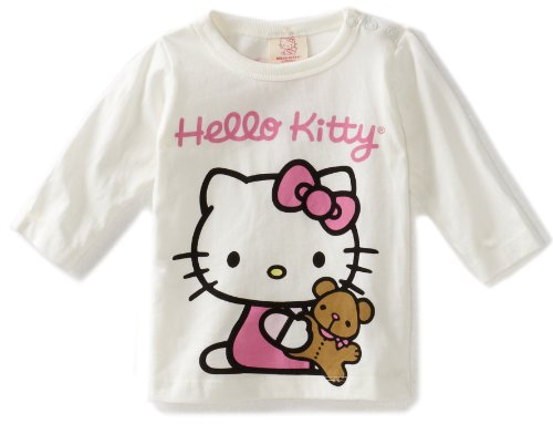 Hello Kitty Organics Baby Girls' Tiny Chum Big Print Long Sleeve Snap T-Shirt