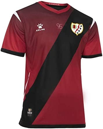 KELME - Camiseta 2ª Equipación 19/20 Rayo Vallecano: Amazon.es ...