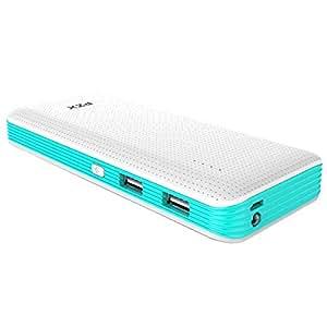 PZX C147 Smart Power 18000mAh Dual USB Power Bank Portable Charger - Blue