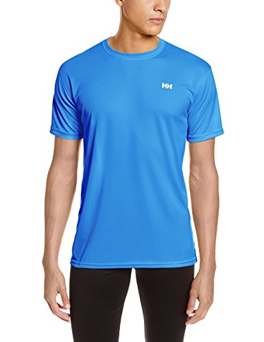 Helly Hansen Men's Utility Short Sleeve Shirt, Racer Blue, Medium