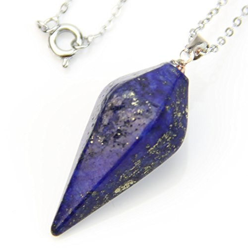 HeroNeo Gemstone Pendulum Necklace Lazurite product image