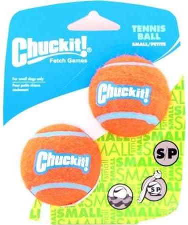 Chuckit! Tennis Ball, 2 Pelotas para Perros Compatible con el ...