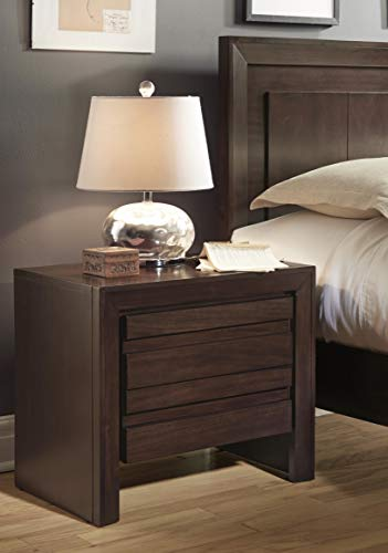 - Modus Furniture 4G2281 Element Nightstand, Chocolate Brown