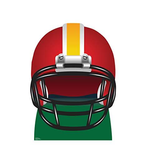 Football Helmet - Advanced Graphics Life Size Cardboard Standup (Characters Helmet Football)