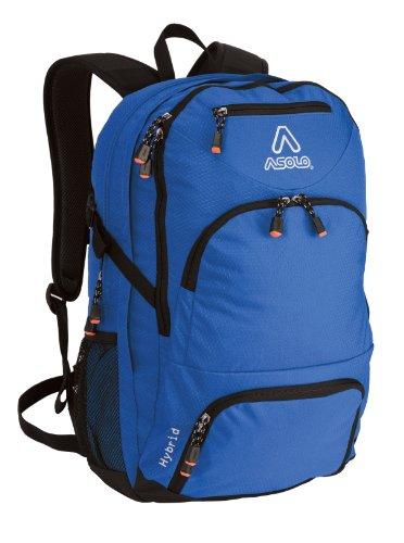 Asolo Hybrid 40-Liter Backpack (Blue, Medium), Outdoor Stuffs