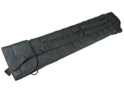 (Explorer Tactical Shotgun Scabbard - MOLLE (Black) w/ Adjustable Strap)