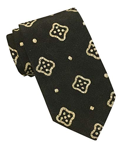 - Polo by Ralph Lauren Slim Charcoal Medallion Print Tie