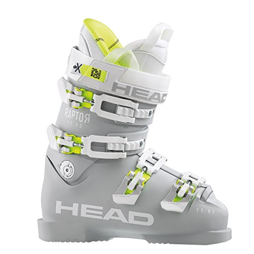 HEAD Raptor 90 RS W Ski Boots 2018 - Women's Gray 245 (Skis Head 2013)
