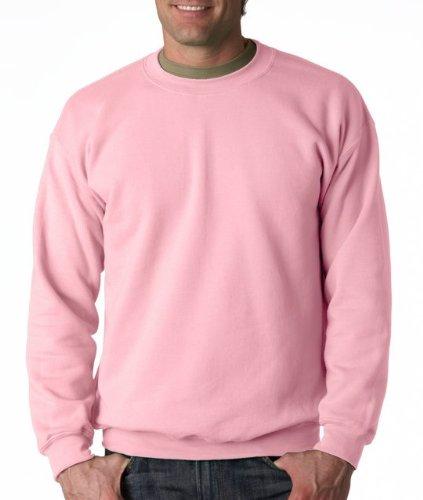 Gildan Men's Heavy Blend Crewneck Sweatshirt - XXXX-Large - Light Pink (Sale Christmas Jumpers For Novelty)