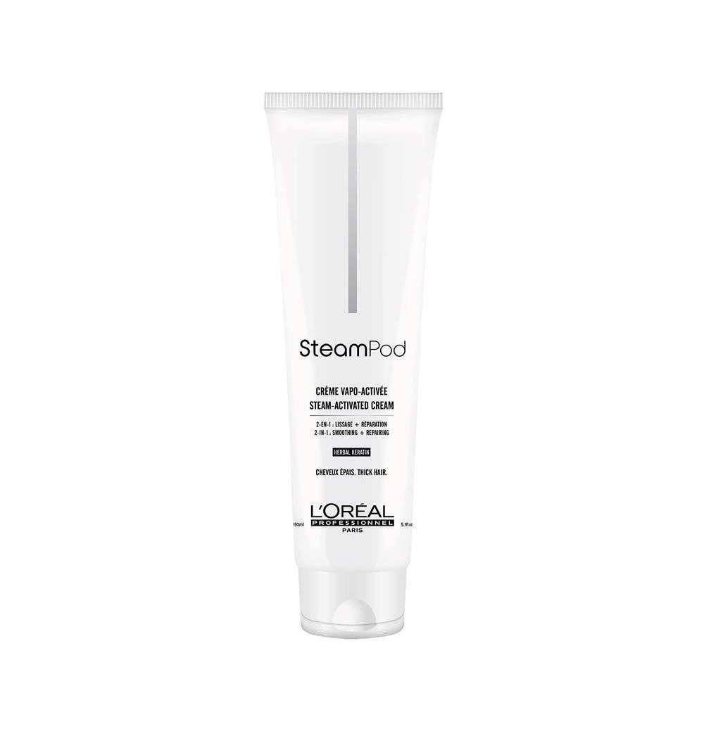 L'Oréal Professionnel Steampod Crema para cabello grueso, 150 ml