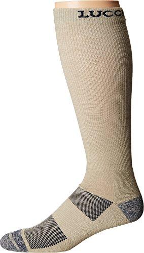 Lucchese Men's Multi-Blend Socks Khaki 9-13