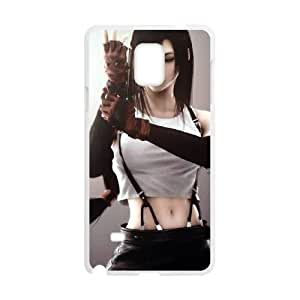 Samsung Galaxy Note 4 Cell Phone Case White Final Fantasy