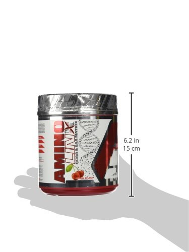 ProSupps USA Aminolinx BCAA/EAA Matrix, Sugar Free Cherry Splash, 14.3 Ounce
