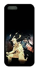 iPhone 5S/5 Case,Black Edge,Soft TPU(Thermoplastic Urethane),Protective Case(Can be customized)Latest style Case,Soft Cover Snap on Case,Ultra-thin Case-Naruto Poster 1F3