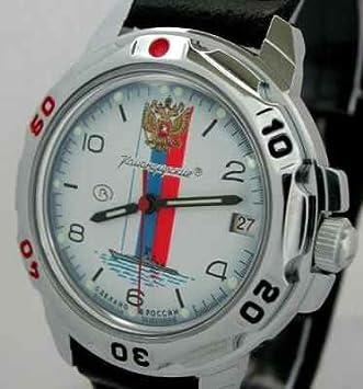 Vostok ruso mecánico reloj – ruso azul marino