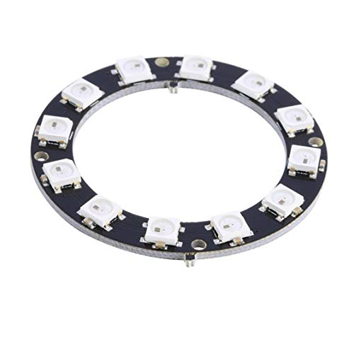 High Performance 5050 12-Bit RGB LED Ring WS2812 Round Decoration Bulb with Integrated Driver Perfect For Arduino