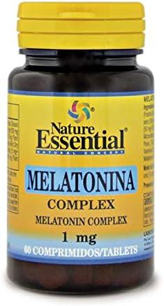Melatonina 1 mg. complex 60 comprimidos con pasiflora, amapola californiana,melisa, tila y valeriana.: Amazon.es: Salud y cuidado personal