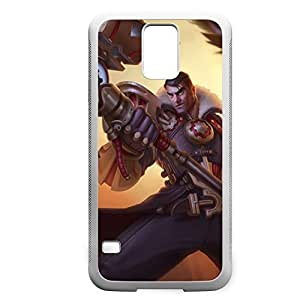 Jayce-001 League of Legends LoLDiy For HTC One M7 Case Cover PC White