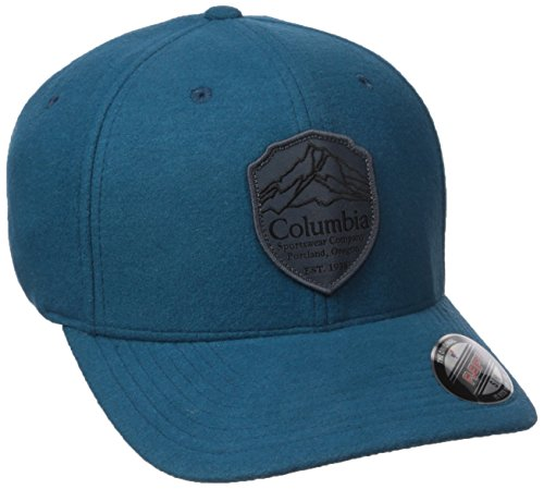 Columbia Men's Lodge Hat, Phoenix Blue, Graphite Patch, (Lodge Cap)