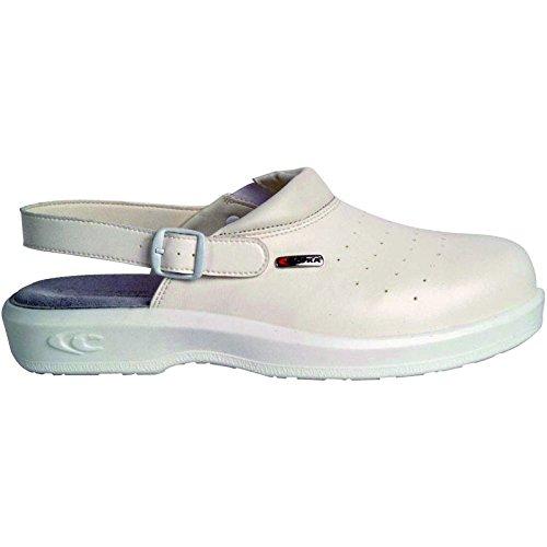 Cofra NEW Kevin SB E A FO SRC par de zapatos de seguridad talla 44color blanco