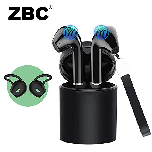 Wireless Earbuds X10 Bluetooth Earphones V5.0 Headphones in-Ear TWS Auto-Pair Airpods Mic Charging Case Sport Running Mini True Stereo Sound Smart Touch Headsets Compatible iOS Android Samsung