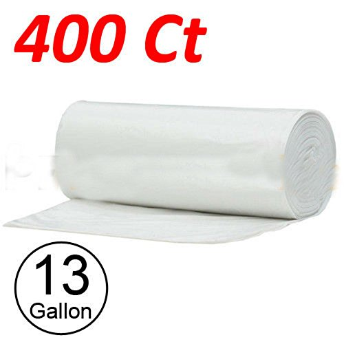 400 Strong 13 Gallon Commercial Kitchen Trash Bag 13 Gal Garbage Bag Yard Clear from Unknown