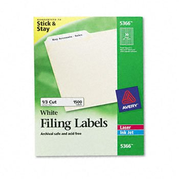 permanent adhesive file folder labels