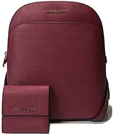 18fbdd652f8 MICHAEL Michael Kors Emmy Large Backpack bundled with Michael Kors Jet Set  Travel SM Card Case