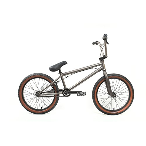 Cheap KHE Bikes Root 180 Freestyle BMX Bicycles, Grey