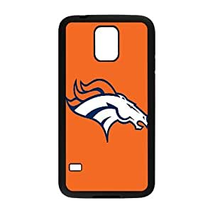 Qxhu Broncos patterns Protective Snap On Hard Plastic Case for SamSung Galaxy S5 I9600