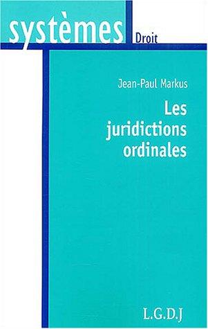 les juridictions ordinales systemes markus j p 9782275023366 amazon com books amazon com