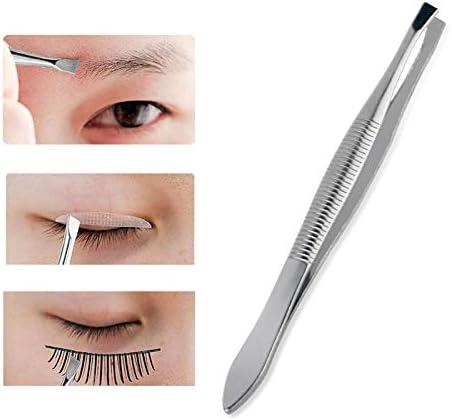 GUOJIAYI 3本の眉毛ピンセット眉毛除去毛抜きピンセットステンレス眉毛クリップツール