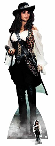 Angelica Formula - Star Cutouts Angelica Pirates of The Caribbean Life Size Cut Out, Cardboard Multi-Colour, 165 x 5 x 165 cm