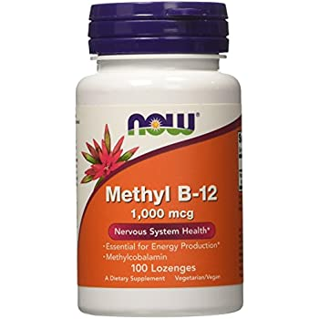 NOW Methyl B-12 1,000 mcg,100 Lozenges