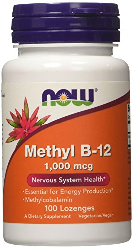 NOW Foods Methyl B-12 1000mcg, 100 - B-12 Lozenges
