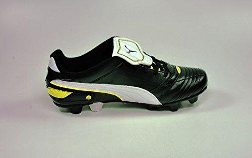Puma Shoes Esito Finale Junior Big Kids Soccer Black/white/yellow 102016 01 (6.5)