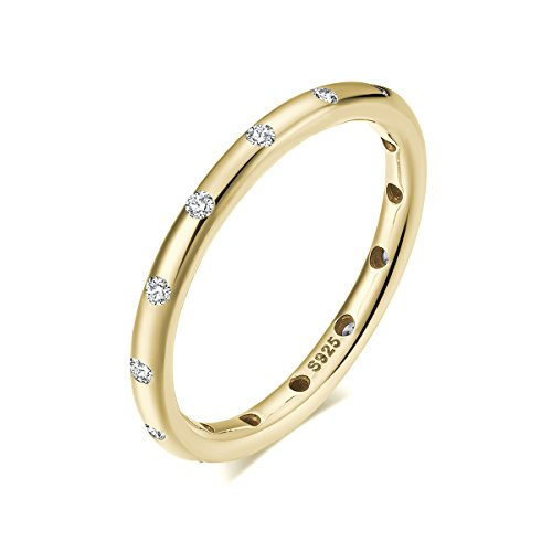 Twenty Plus Classic Simple Designed Droplets Finger Ring Gold Colored With CZ For Gifts Colored Stone Ring