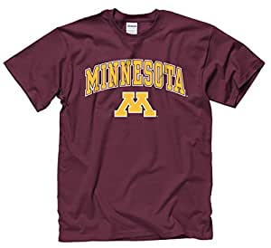 Minnesota Golden Gophers Adult Arch & Logo Gameday T-Shirt - Maroon , Small