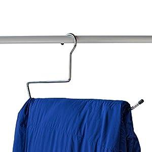 """NAHANCO 201NOTAIL19 19"""" Custom Sleeping Bag Hanger (Pack of 12)"""