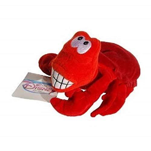 (Sebastian the Crab Little Mermaid Disney Mini Bean Bag Plush)