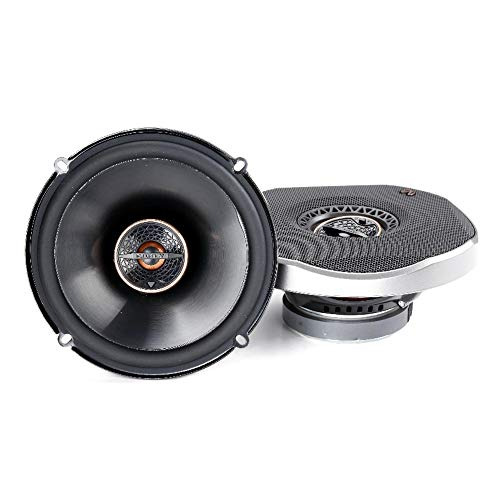 """Infinity REF6522IX 6.5"""" 180W Reference Series Coaxial Car Speakers With Edge-driven Textile Tweeter"""