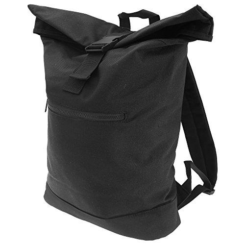 Bagbase Roll-Top Rucksack (12 Liter) (Einheitsgröße) (Schwarz)