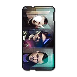 HTC One M7 Cell Phone Case Covers Black Manic Street Preachers J1730741
