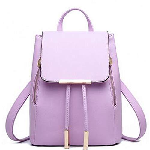 moda di borsa Violet donna borsa studenti vento violet NVRENJIE zaino college qgtfSw