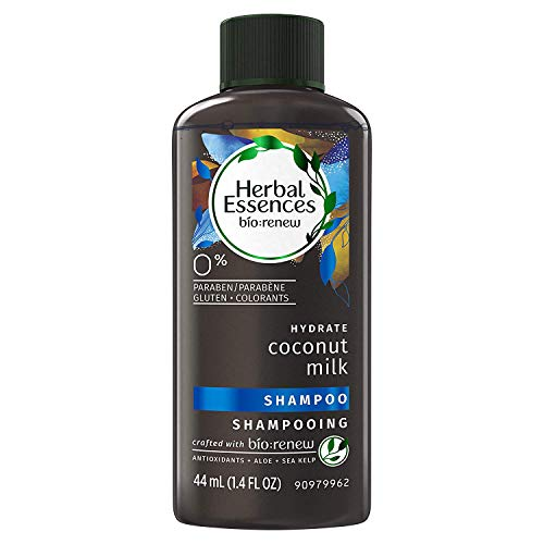 (Herbal Essences Biorenew Coconut Milk Hydrate Shampoo 1.4 Fl Oz / 44 mL, Travel Sized Bottle (Pack of 6))