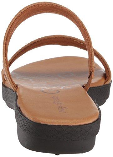 Dionne Sandal Flat Easy Street Women's Luggage Unwv1z84q