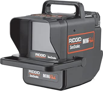 Amazon.com: Ridgid 32903 Seesnake minipak Monitor con ...
